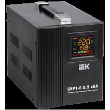 Стабилизатор напряжения серии HOME 0,5 кВА (СНР1-0-0,5) IEK (Арт: IVS20-1-00500)