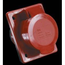 Розетка 424 скрытая 3Р+Е 32А 380В IP44 ИЭК (Арт: PSR42-032-4)