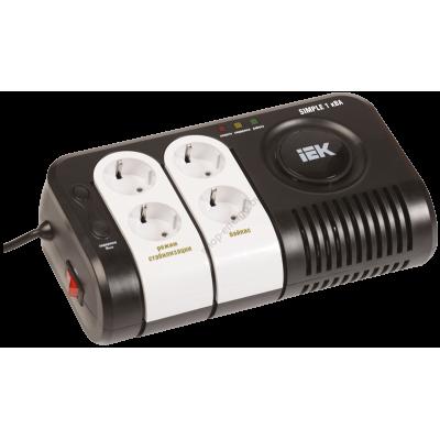 Стабилизатор напряжения серии Simple 1 кВА IEK (Арт: IVS25-1-01000)