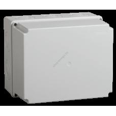 Коробка КМ41273 распаячная для о/п 240х195х165 мм IP44 (RAL7035, кабельные вводы 5 шт.) (Арт: UKO10-240-195-165-K41-44)