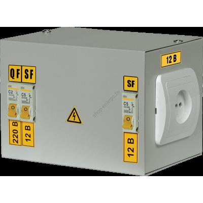 Ящик с понижающим трансформатором ЯТП-0,25 380/36-3 36 УХЛ4 IP30 (Арт: MTT21-036-0250)