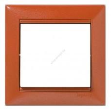 Рамка 1-местная (коричневый)