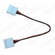 Набор проводов для гибкого соединения одноцветной светодиодной ленты шириной 8 мм