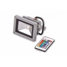 прожектор светодиодный RGB 10W