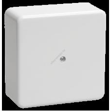 Коробка КМ41222 распаячная для о/п 100х100х44 мм белая (с контактной группой) (Арт: UKO10-100-100-044-K01)