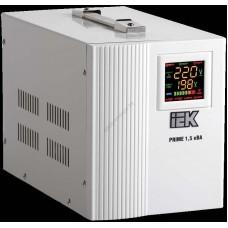 Стабилизатор напряжения переносной серии Prime 1,5 кВА IEK (Арт: IVS31-1-01500)