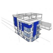 Экономия на отделке фасада за счет использования солнечных модулей