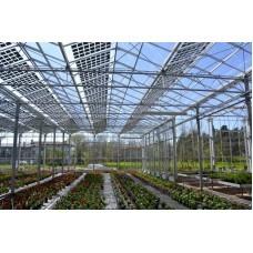 Стеклянная крыша для парников из солнечных модулей