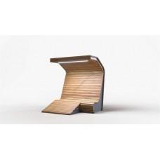 Умные скамейки с освещением и зарядными устройствами