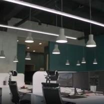 Освещение для офиса компании WM Reply