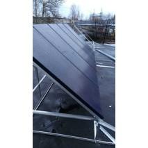 Солнечные батареи на предприятии