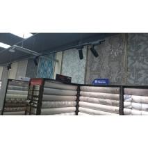 Новое освещение в магазин итальянских обоев
