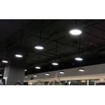 """Освещение в магазине Мегатоп в ТЦ """"Столица"""" под ключ"""