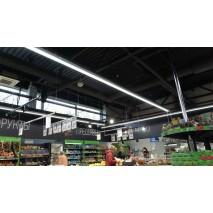 Освещение для продуктового магазина Евроопт