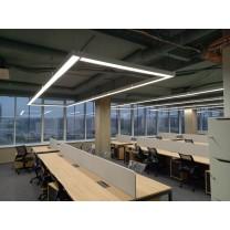 Освещение open space для банка БелВЭБ