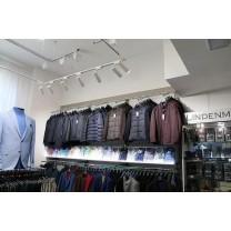Проект освещение в магазине мужской одежды