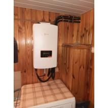 Сетевая солнечная электростанция в частном доме