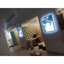 Световые панели BEGRIFF в магазине плитки и керамики