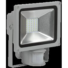 Прожектор СДО 05-20Д(детектор)светодиодный серый SMD IP44 IEK