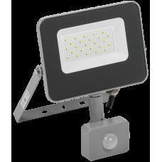 Прожектор СДО 07-20Д светодиодный серый с ДД IP54 IEK
