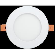 Светильник ДВО 1608 серебро круг LED 18Вт 4000 IP20 (Арт: LDVO0-1608-1-18-K23)