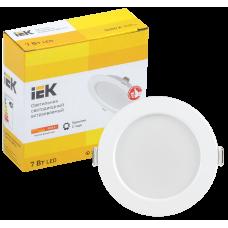 Светильник LED ДВО 1611 белый круг 7Вт 3000К IP20 IEK