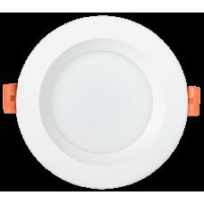 Светильник LED ДВО 1801 PRO белый круг 10Вт 3000K IP40 IEK