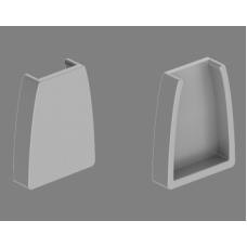 Заглушка для профиля Geniled для стекла 12058 без отверстия