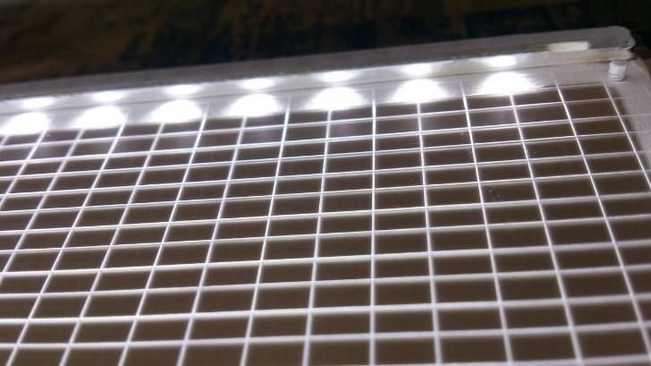 Подсветка световой панели